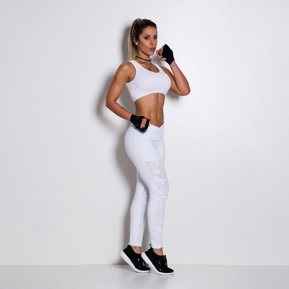 Legging Fitness Poliamida Renda LG325