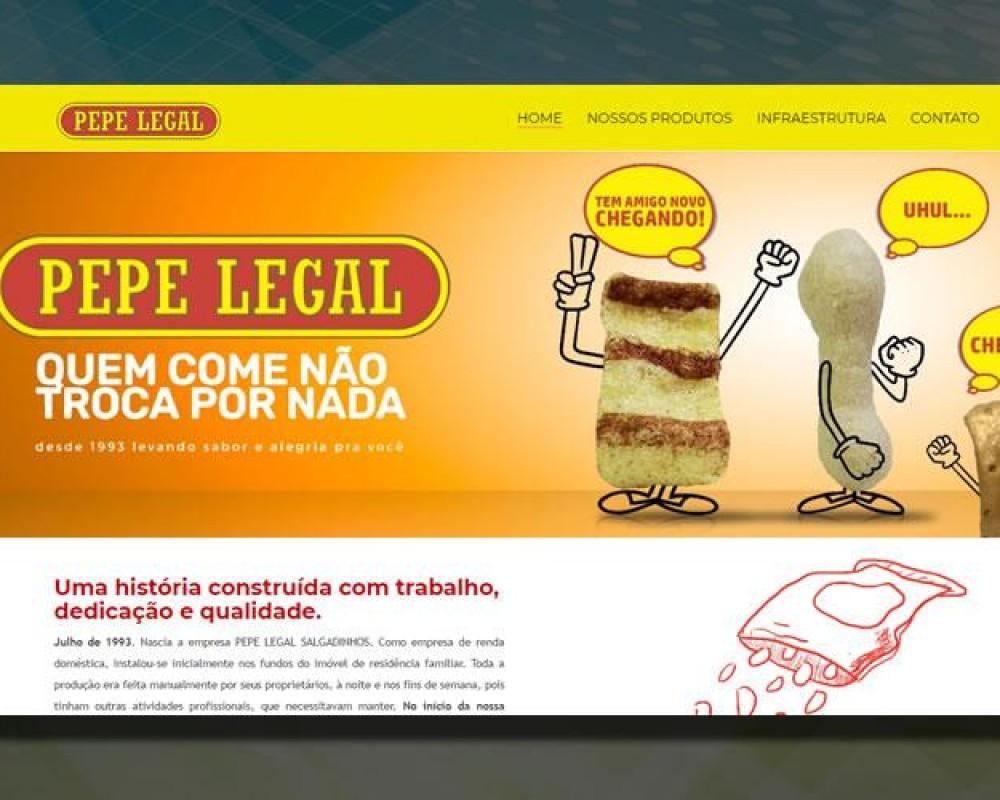 Novo site Pepe Legal
