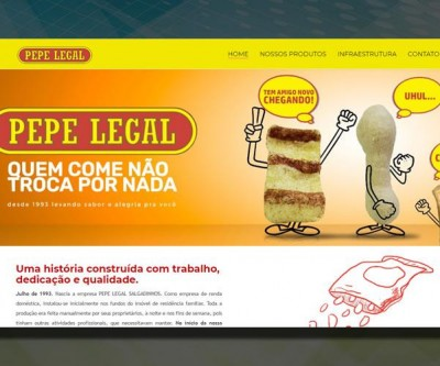 Novo site Pepe Legal