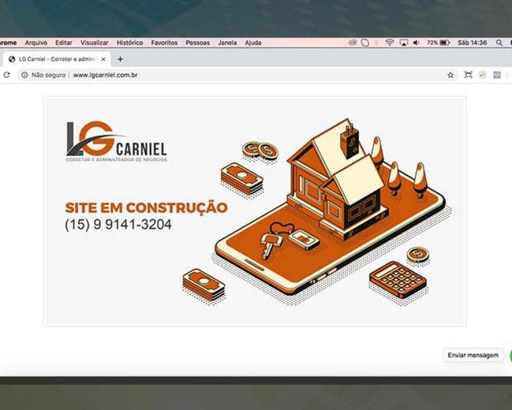 Novo site LG Carniel